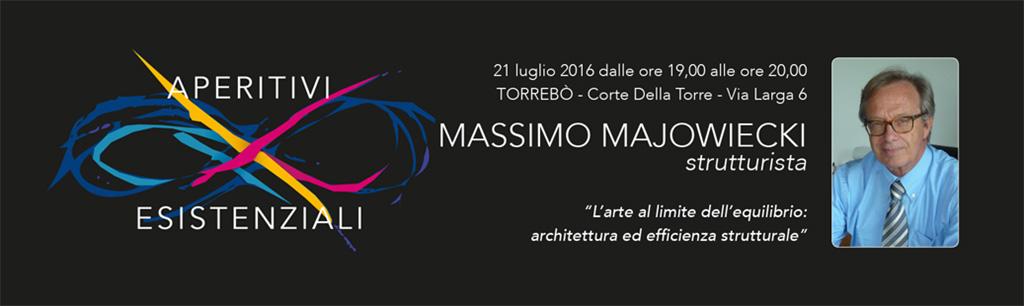Aperitivi Esistenziali – Massimo Majowiecki
