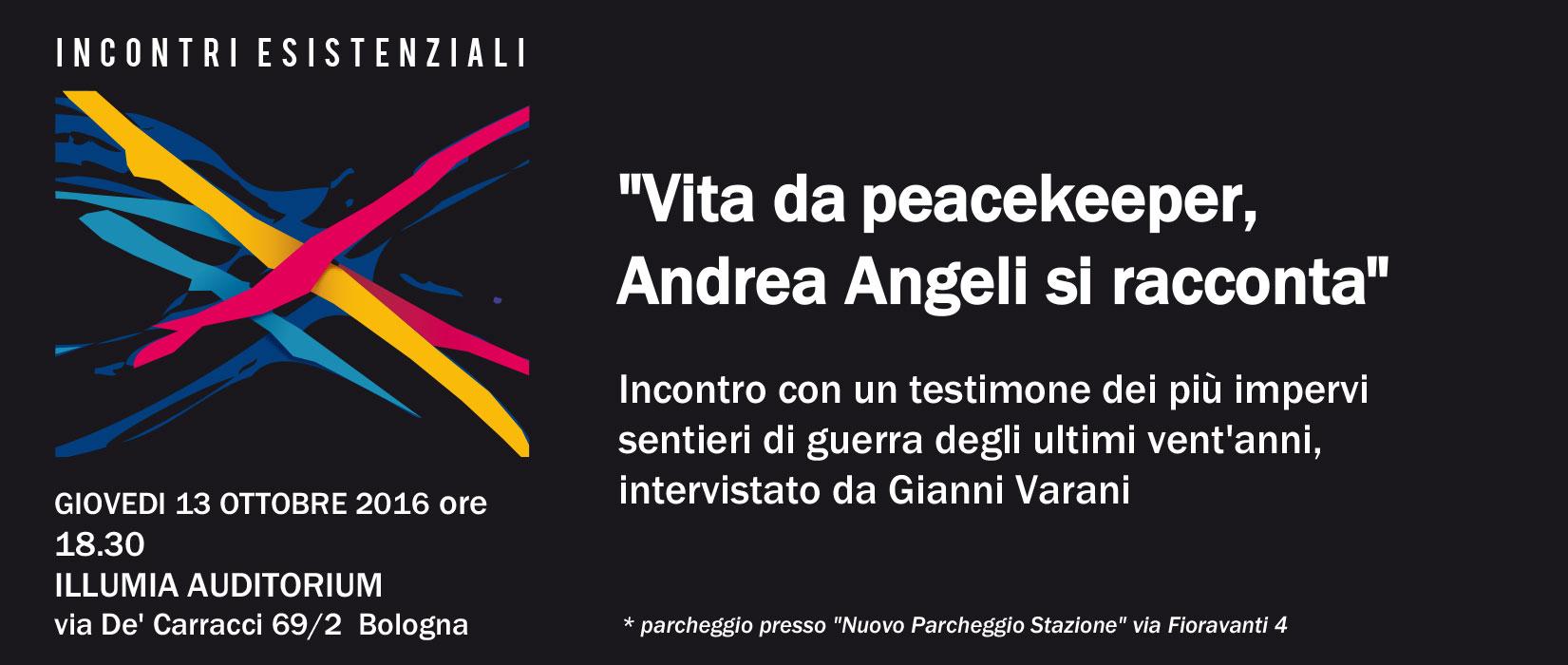 Vita Da Peacekeeper, Andrea Angeli
