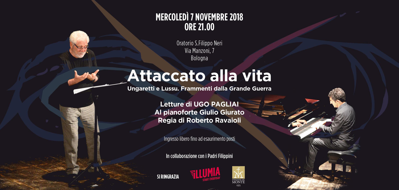 Evento 7 Novembre 2018 – Attaccato Alla Vita